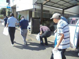 ゴミ拾い 福祉施設 ボランティア 地域