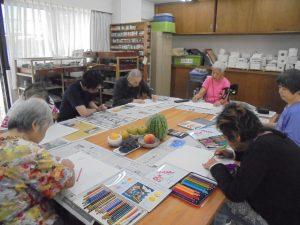 福祉施設 美術 クラブ ボランティア