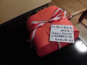 園児さんへのクリスマスプレゼント2020