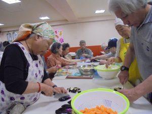 福祉施設 料理会 行事 ボランティア