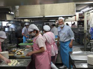 福祉施設 料理場 職員 給食